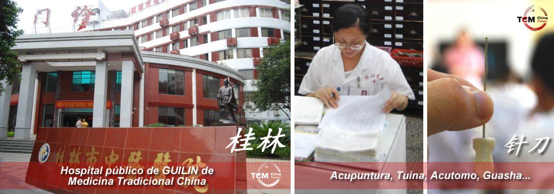 Guilin curso practicas acupuntura hospital