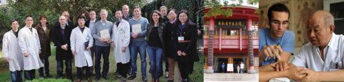 unirse a grupos practicas china acupuntura