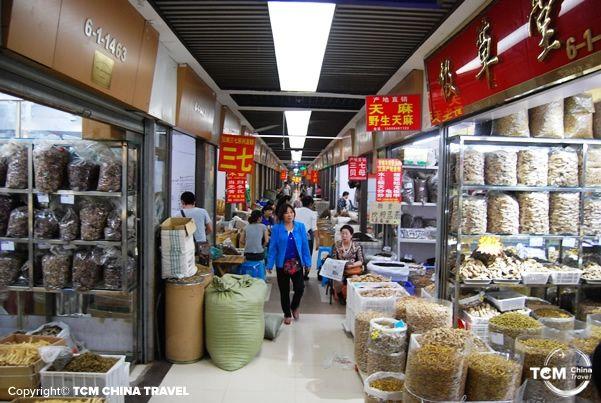 chengdu herb market 01