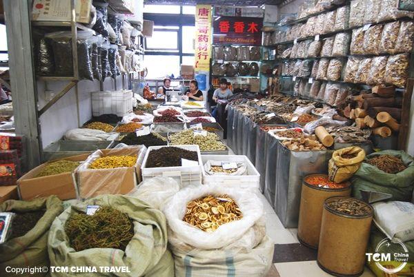 chengdu herb market 04
