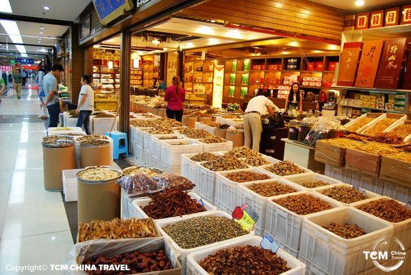 chengdu herb market 03